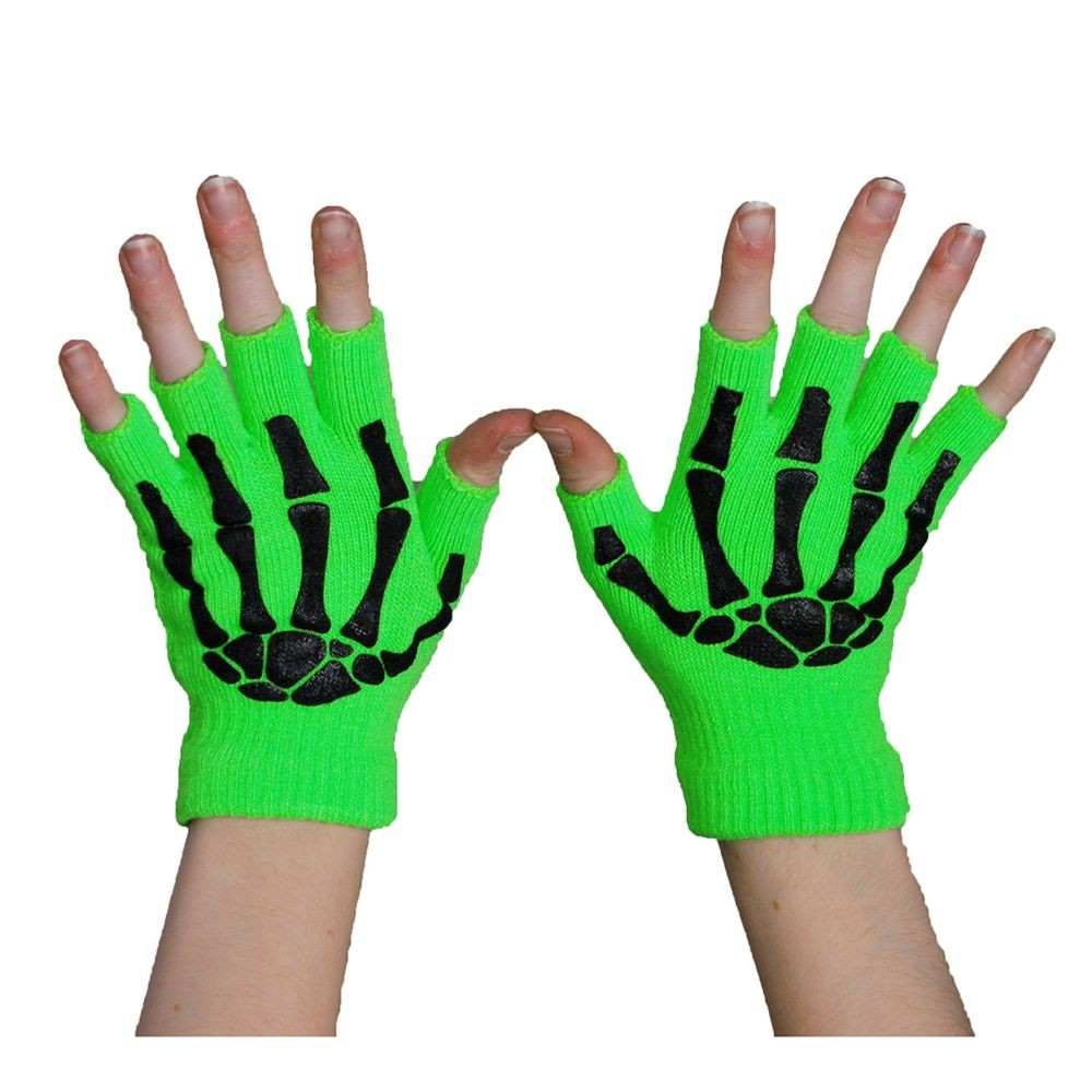 POIZEN INDUSTRIES - BGS FINGERLESS GLOVES LADIES N.GREEN