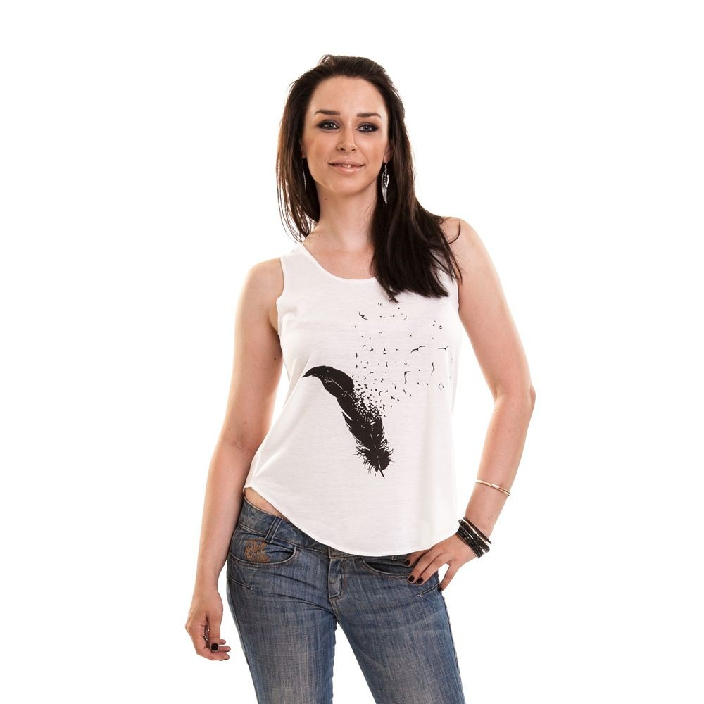 INNOCENT LIFESTYLE - FLY AWAY VEST LADIES WHITE