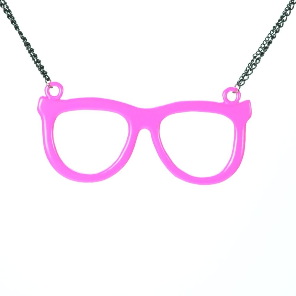 CUPCAKE CULT - NERD SHADES P1 NECKLACE LADIES PINK *NEW*