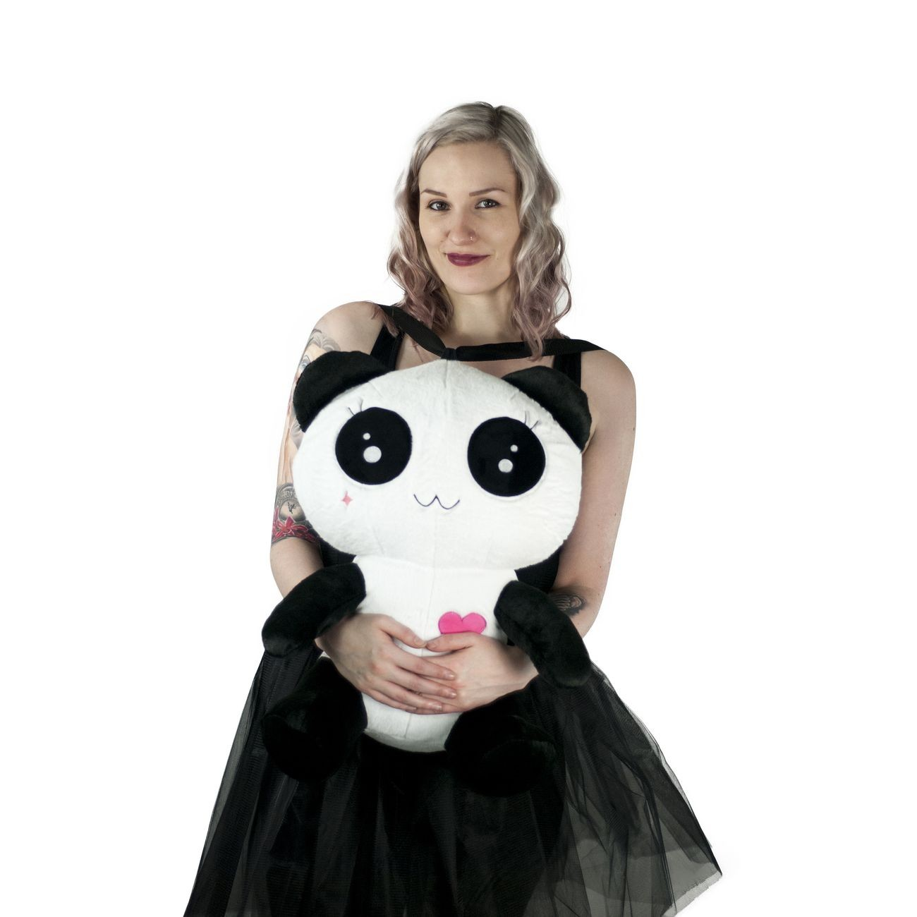 CUPCAKE CULT - LOVE PANDA BAG LADIES WHITE/BLACK