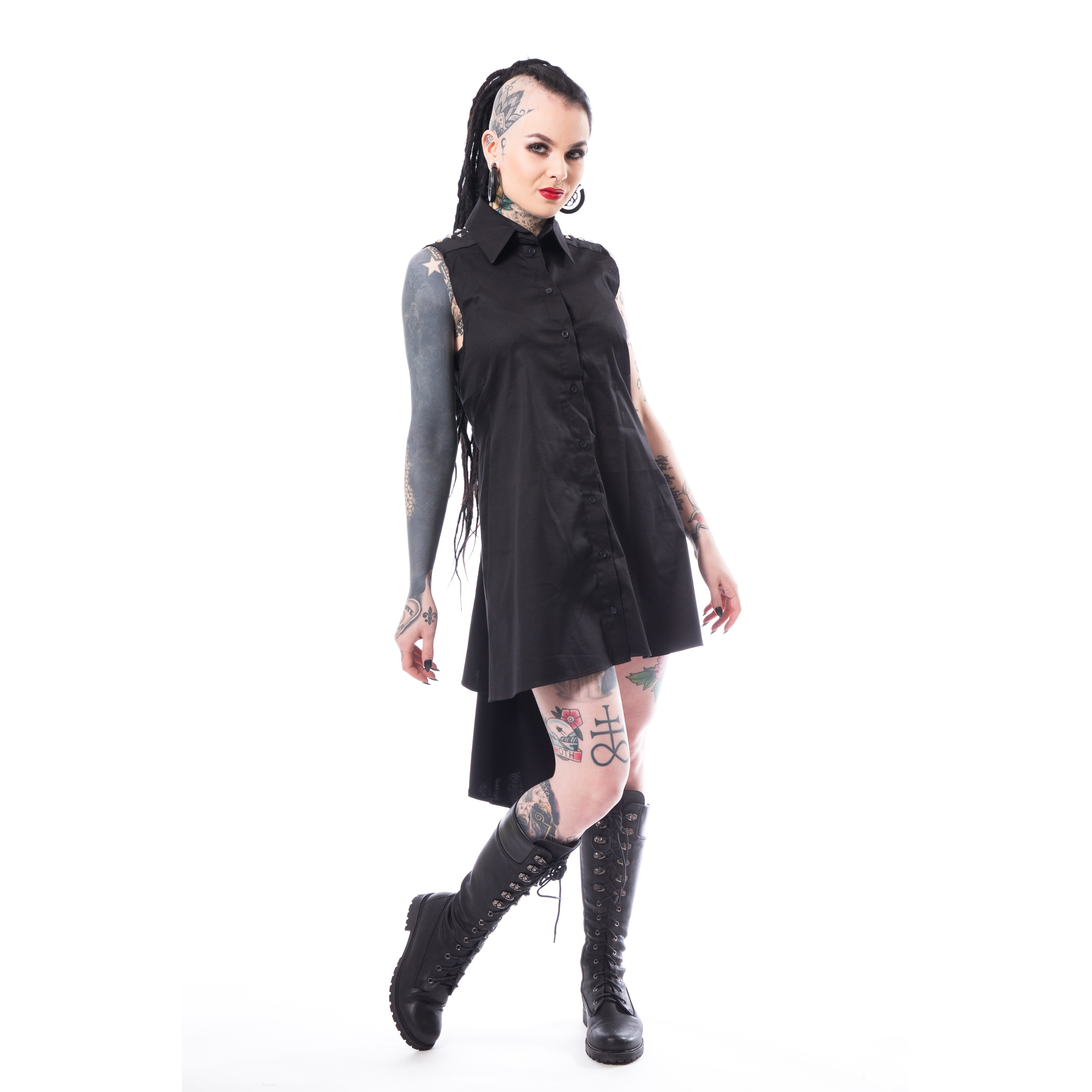 HEARTLESS - Aino Dress Ladies Black *NEW IN-a*