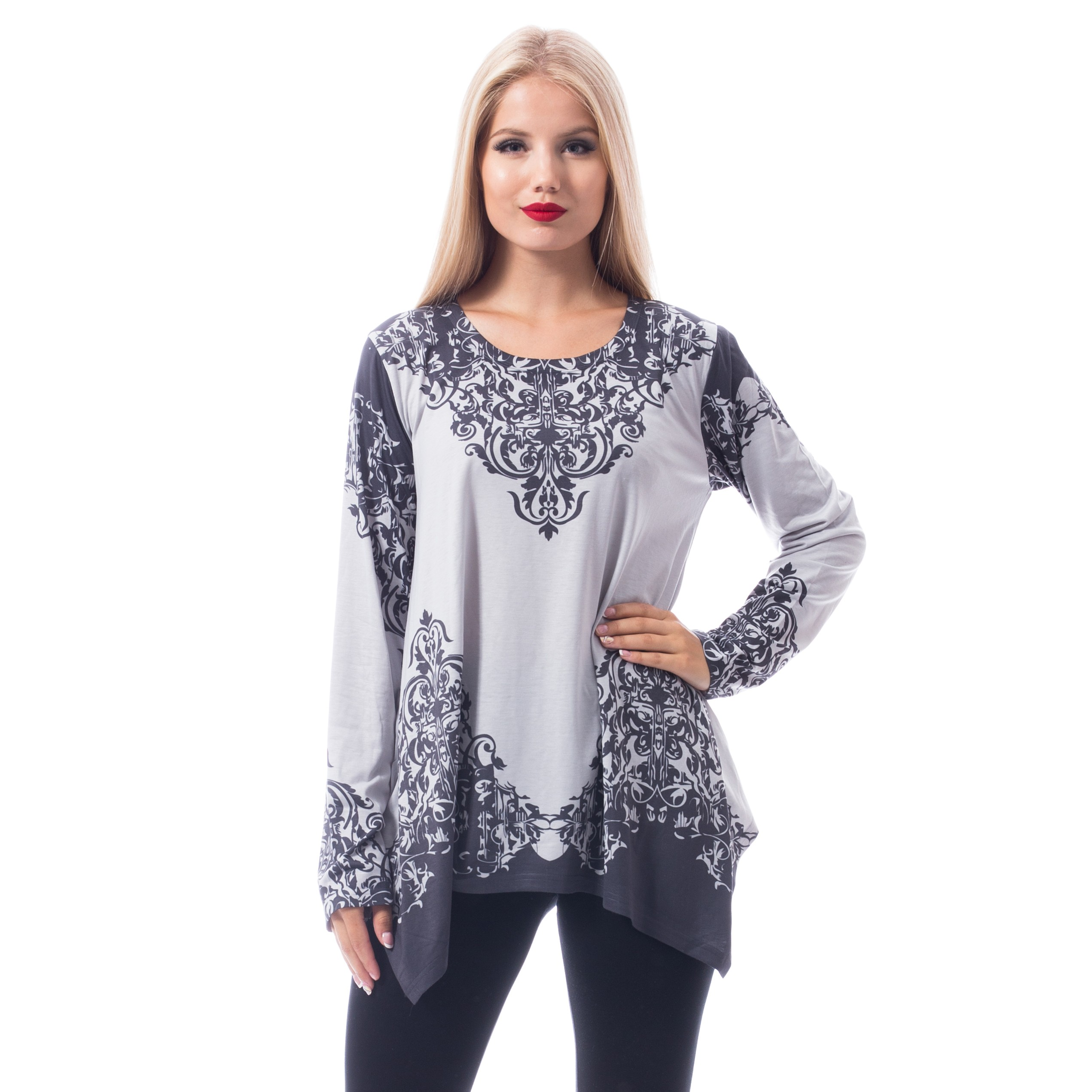INNOCENT LIFESTYLE - Amala Top Ladies Grey *a1