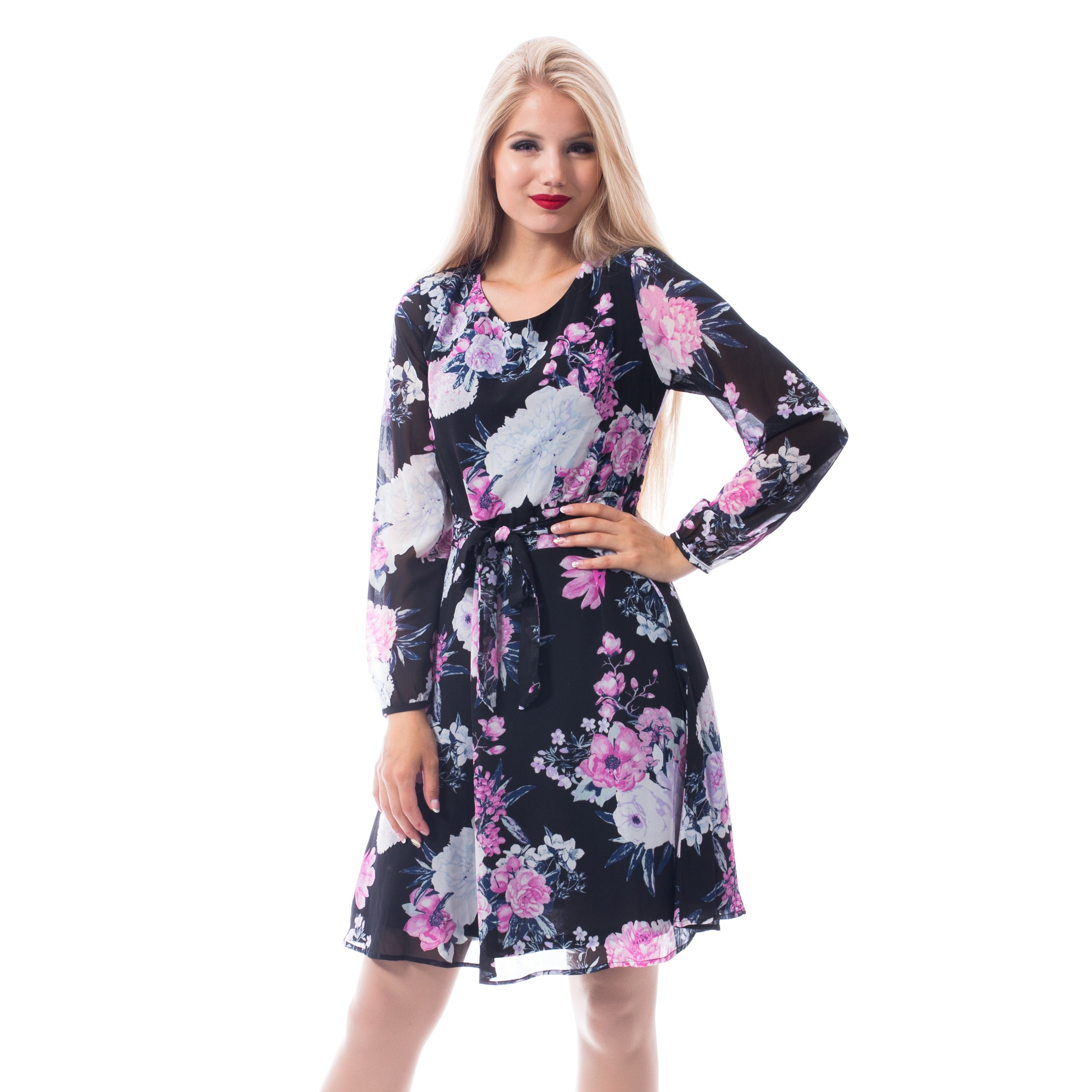 INNOCENT LIFESTYLE - Amalie Dress Ladies Black *a1