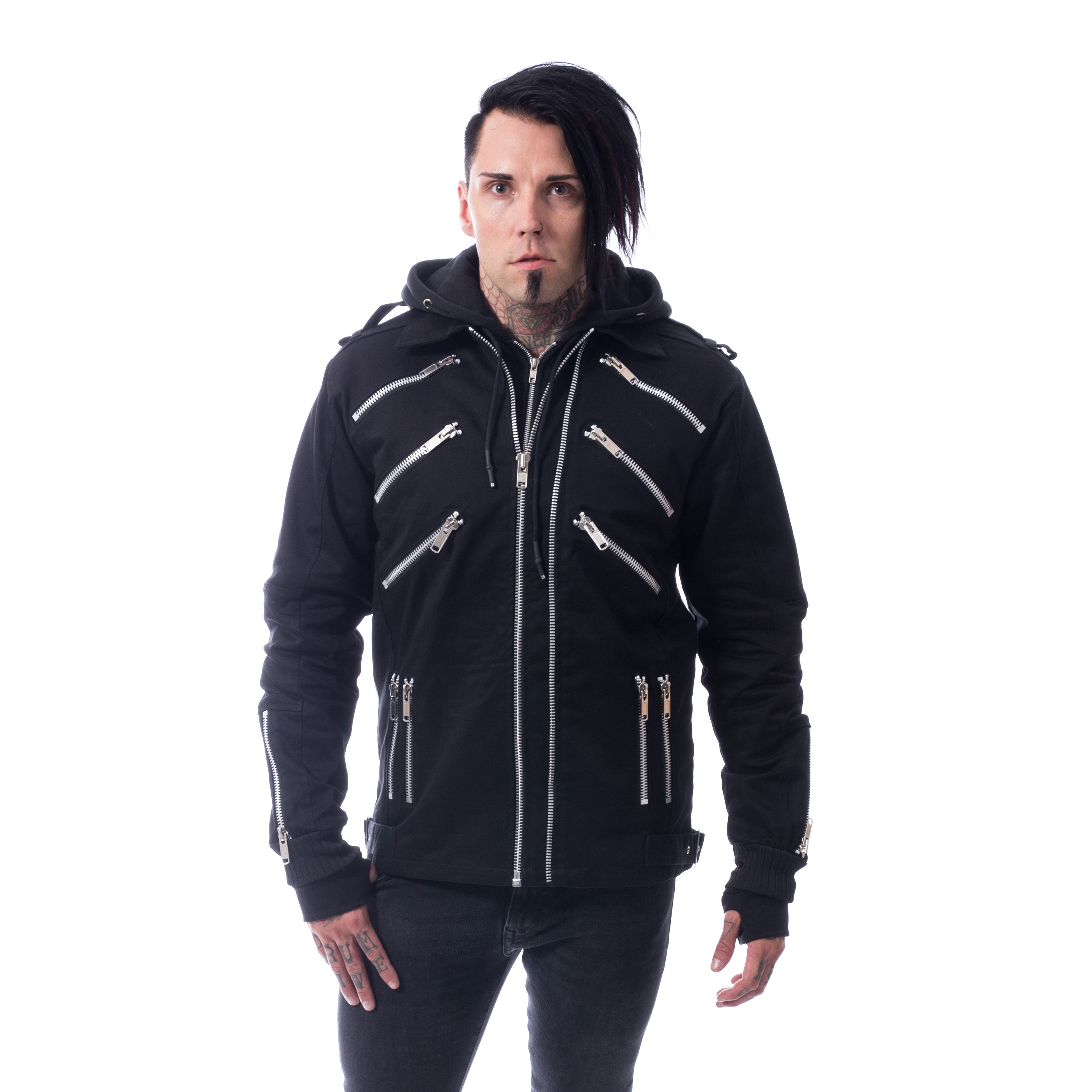 VIXXSIN - Brando Jacket Mens Black *a1