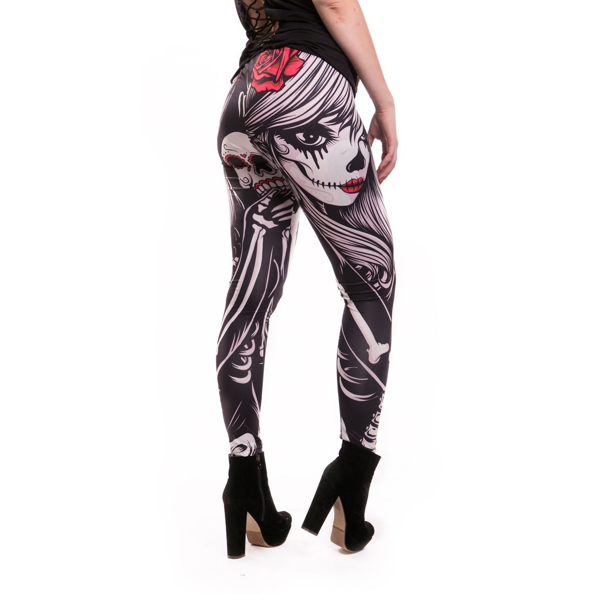 VIXXSIN - CROW GIRL LEGGINGS LADIES BLACK