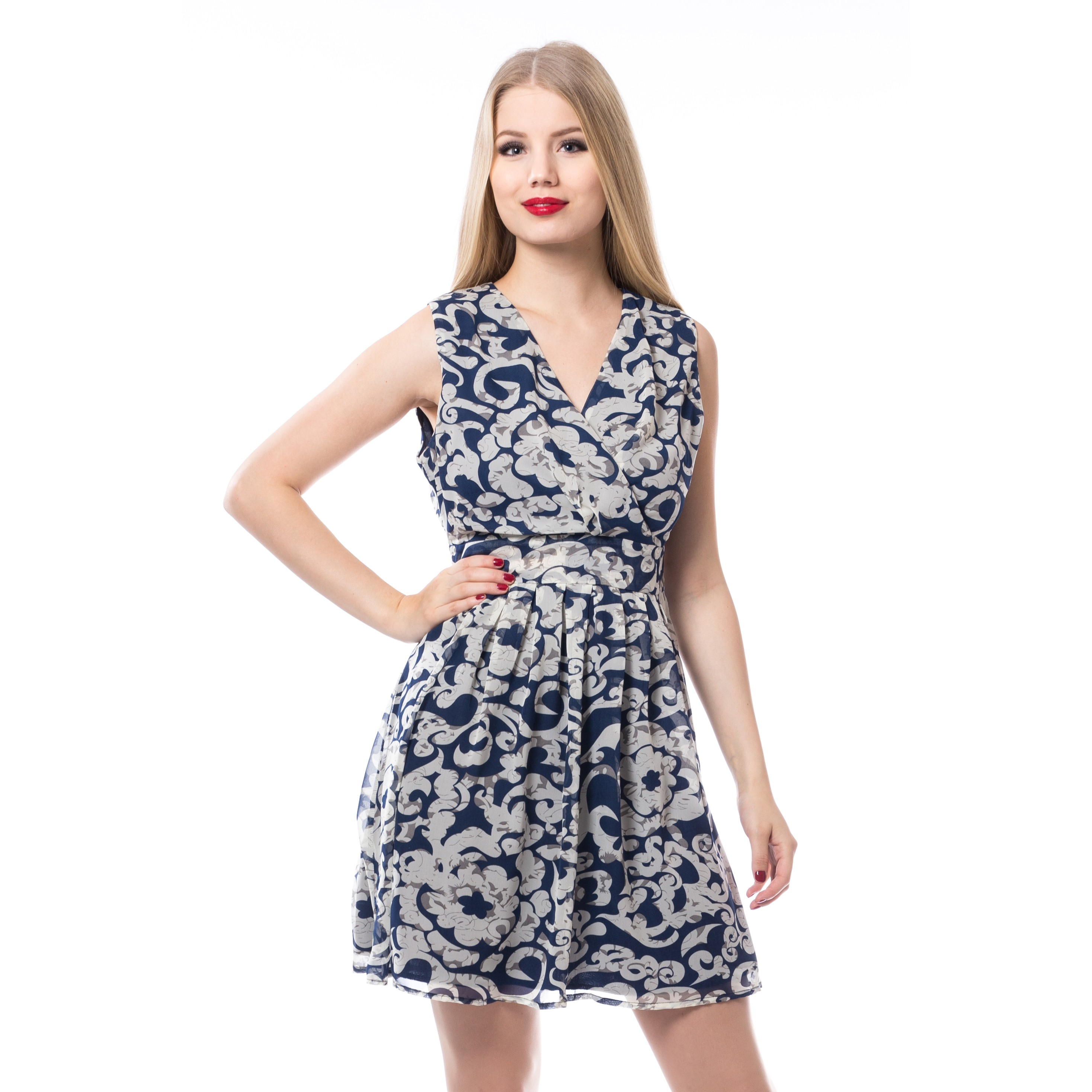 INNOCENT LIFESTY - Elin Dress Ladies Blue *NEW IN-a*