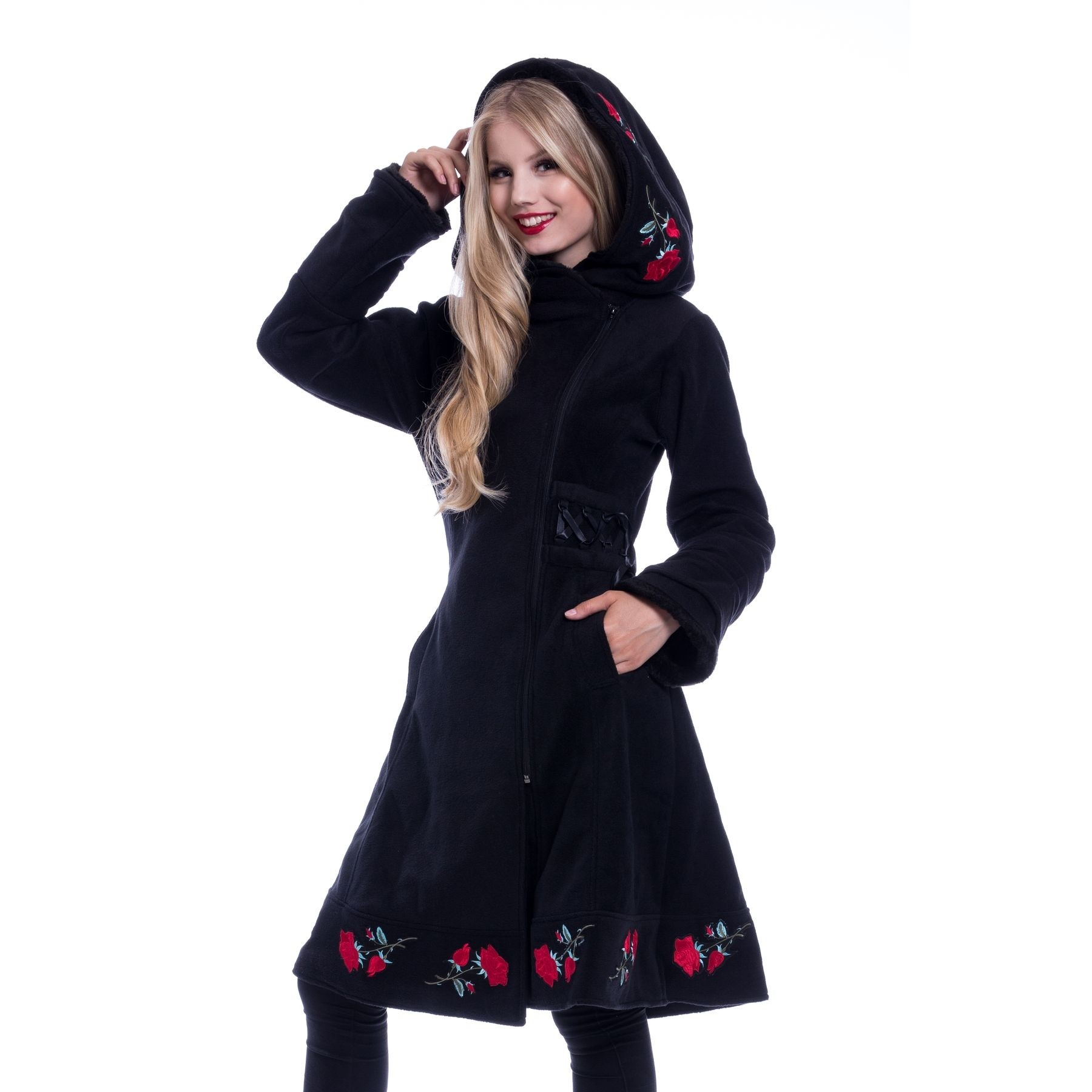 POIZEN - Emilla Coat Ladies Black *NEW IN*