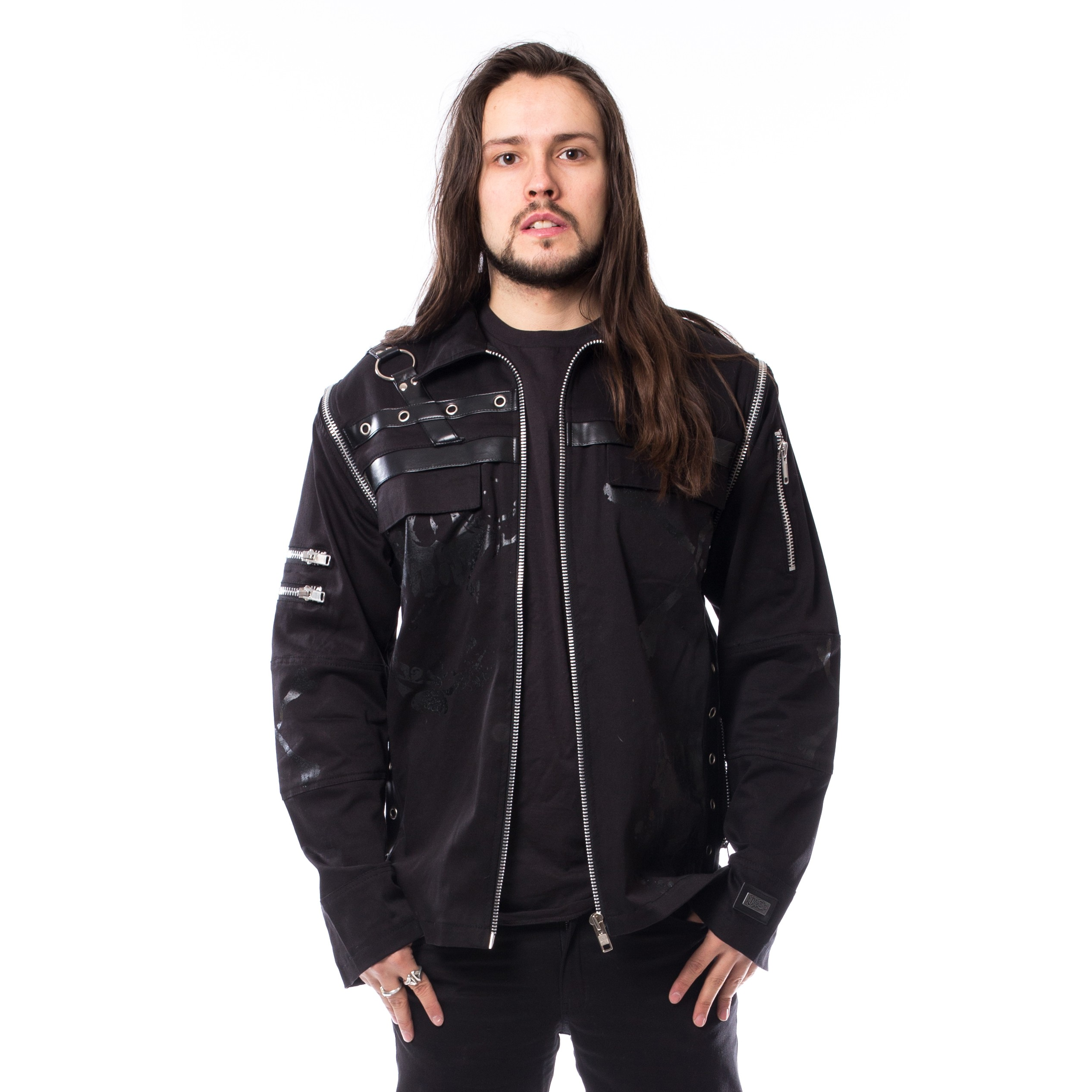 VIXXSIN - Felix Jacket Mens Black *NEW IN-a*
