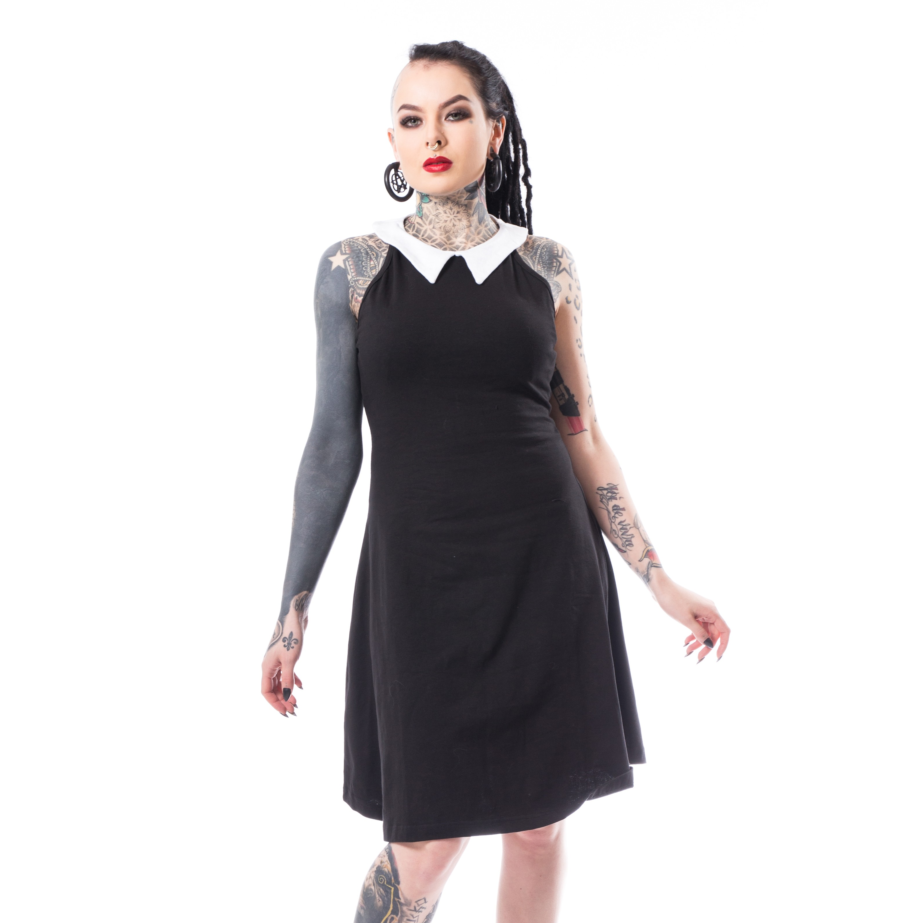 HEARTLESS - Louise Dress Ladies Black *NEW IN-a*