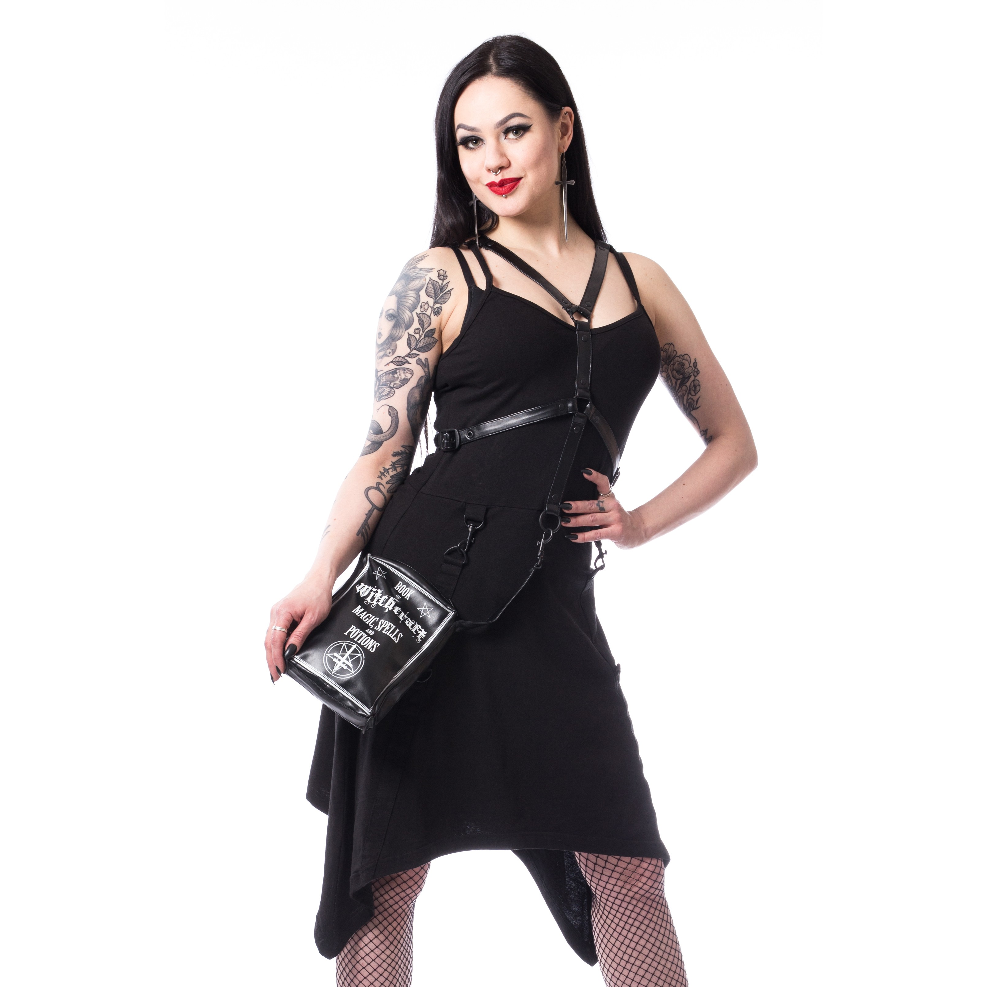 HEARTLESS - Riina Dress Ladies Black *NEW IN-a*