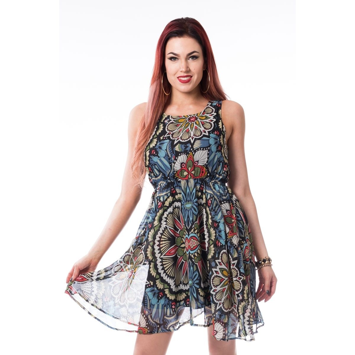 Sanna Dress Multi - Large