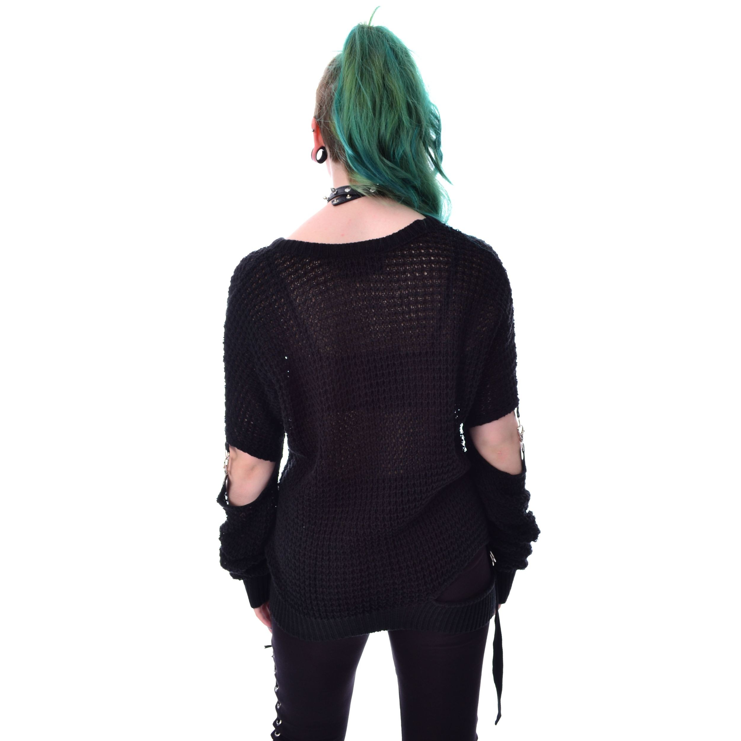 HEARTLESS - SHIFTER TOP LADIES BLACK |c|