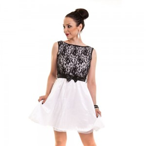 INNOCENT LIFESTYLE - SHINE DRESS LADIES WHITE