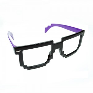 POIZEN INDUSTRIES - 8 BIT SHADES LADIES BLACK/PURPLE