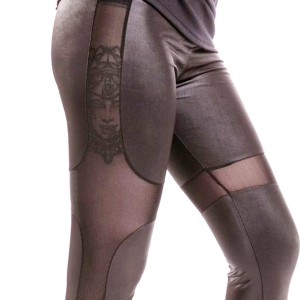 CUPCAKE CULT - HNET LEGGINGS LADIES BLACK