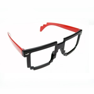 POIZEN INDUSTRIES - 8 BIT SHADES LADIES BLACK/RED