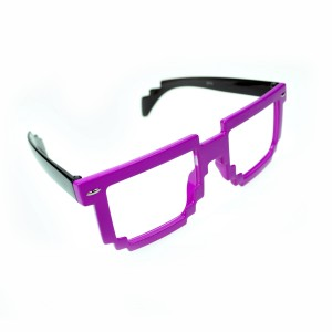 POIZEN INDUSTRIES - 8 BIT SHADES LADIES PINK/BLACK