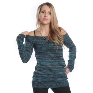 INNOCENT LIFESTYLE - HENA TOP LADIES TURQUOISE
