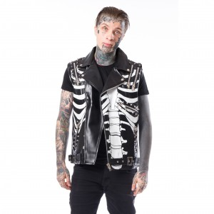 HEARTLESS - Aapo Vest Mens Black *NEW IN-a*