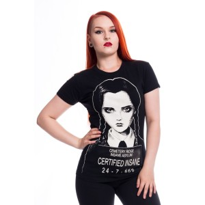 HEARTLESS - Certified Wednesday T Ladies Black *NEW IN*