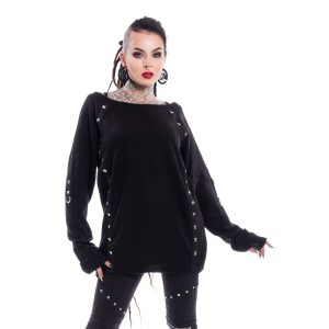 CHEMICAL BLACK - Checkout Top Ladies Black *NEW IN*