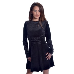 HEARTLESS - Gothic Wednesday Dress Ladies Black *NEW IN-a*