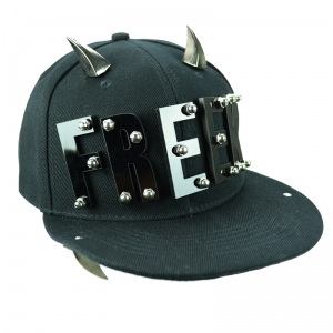 POIZEN INDUSTRIES - FREEK CAP LADIES BLACK/BLACK