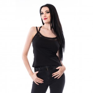 HEARTLESS - Llona Top Ladies Black *NEW IN-a*