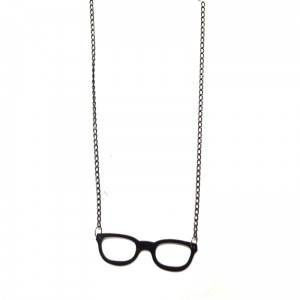 POIZEN INDUSTRIES - NERD NECKLACE LADIES BLACK