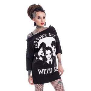 HEARTLESS - Sit With Us Top Ladies Black *NEW IN*