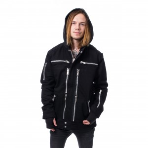 HEARTLESS - THEO JACKET MENS BLACK |c|