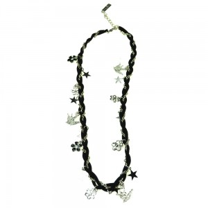 INNOCENT LIFESTYLE - BLACK CHARM NECKLACE (ANCC) LADIES BLACK