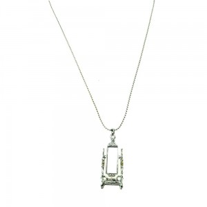 INNOCENT LIFESTYLE - DRESS MIRROR NECKLACE LADIES SILVER