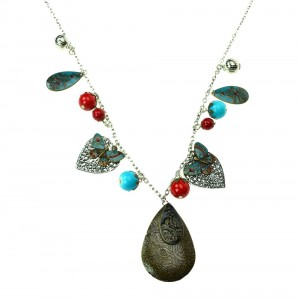 INNOCENT LIFESTYLE - INDIAN SUMMER NECKLACE (ANMCC) LADIES BLUE