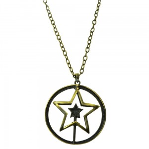 INNOCENT LIFESTYLE - SPINNING STAR NECKLACE (ANSK) LADIES WHITE