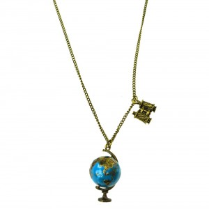 INNOCENT LIFESTYLE - ATLAS NECKLACE (ANWB) LADIES BLUE