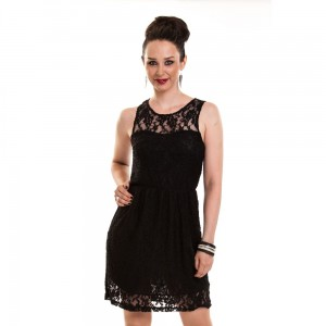 INNOCENT LIFESTYLE - BELLE DRESS LADIES BLACK