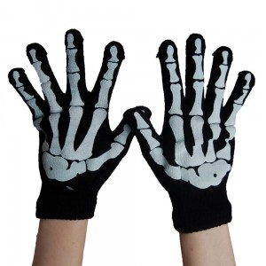 POIZEN INDUSTRIES - BGG GLOVES LADIES BLACK/WHITE