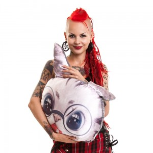 CUPCAKE CULT - CAT FISH PILLOW LADIES CREAM