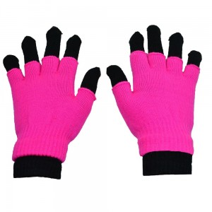 POIZEN INDUSTRIES - DOUBLE GLOVES LADIES PINK