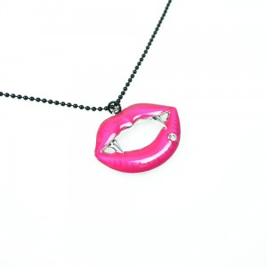 CUPCAKE CULT - FANGTASTIC P1 NECKLACE LADIES PINK *NEW*