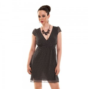 INNOCENT LIFESTYLE - JUSTINE DRESS LADIES BLACK