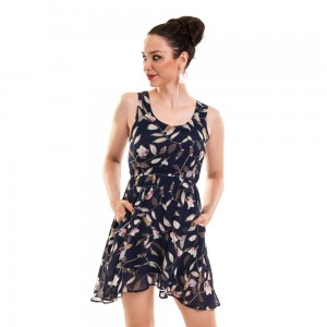 INNOCENT LIFESTYLE - KARISA DRESS LADIES BLUE