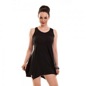INNOCENT LIFESTYLE - KHORION LACE PANEL DRESS LADIES BLACK