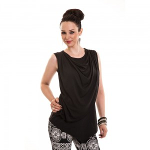 INNOCENT LIFESTYLE - LEAMA TOP LADIES BLACK