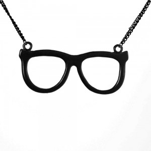 CUPCAKE CULT - NERD SHADES P1 NECKLACE LADIES BLACK *NEW*