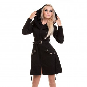 POIZEN - Twilight Coat Ladies Black *NEW IN*