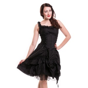 POIZEN INDUSTRIES - SOUL DRESS LADIES BLACK