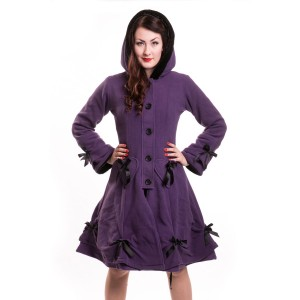 POIZEN INDUSTRIES - ALICE COAT LADIES PURPLE