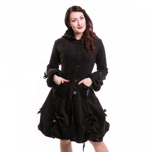 POIZEN INDUSTRIES - ALICE COAT LADIES BLACK